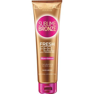 L'Oreal Paris Sublime Bronze Fresh Feel Self Tanning Gel 150ml