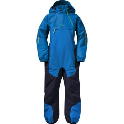 Bergans Kid's Lilletind Insulated Coverall - Strong Blue/Navy/Greenlake (7983)