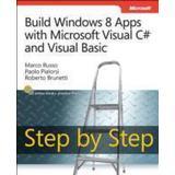 Microsoft visual c# step by step Böcker Build Windows 8 Apps with Microsoft Visual C# and Visual Basic Step by Step