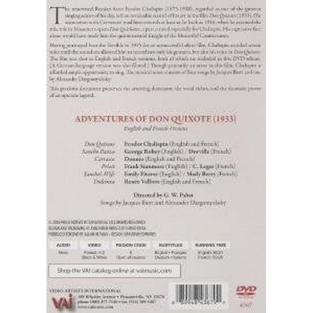 Adventures Of Don Quixote (DVD)