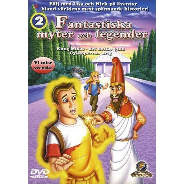 Fantastiska myter och legender: Kung Midas det doftar guld (DVD)