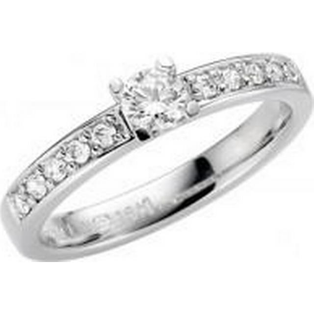 Schalins Norrsken Himla - White Gold Ring w. Diamonds