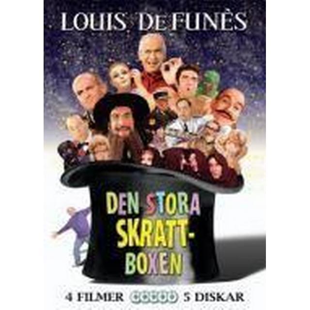 Louis de Funes: Den stora skrattboxen (DVD 2008)