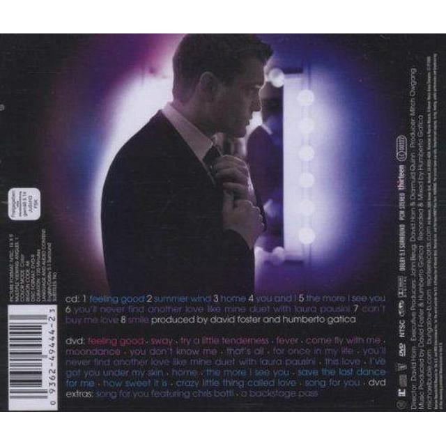 Buble Michael - Caught In The Act Cd + Dvd