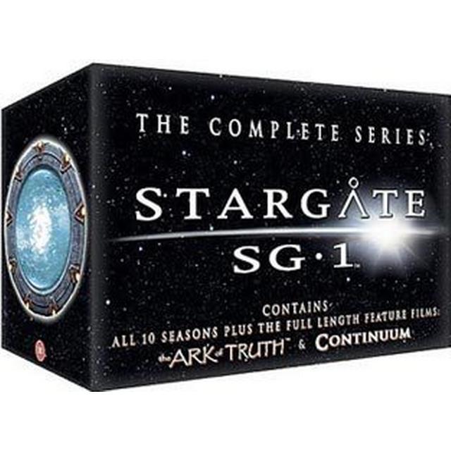Stargate SG-1 collection: Säsong 1-10 + 2 film (DVD 2010)