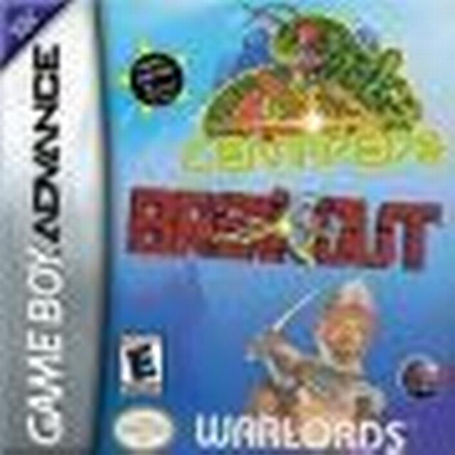 Breakout / Centipede / Warlords