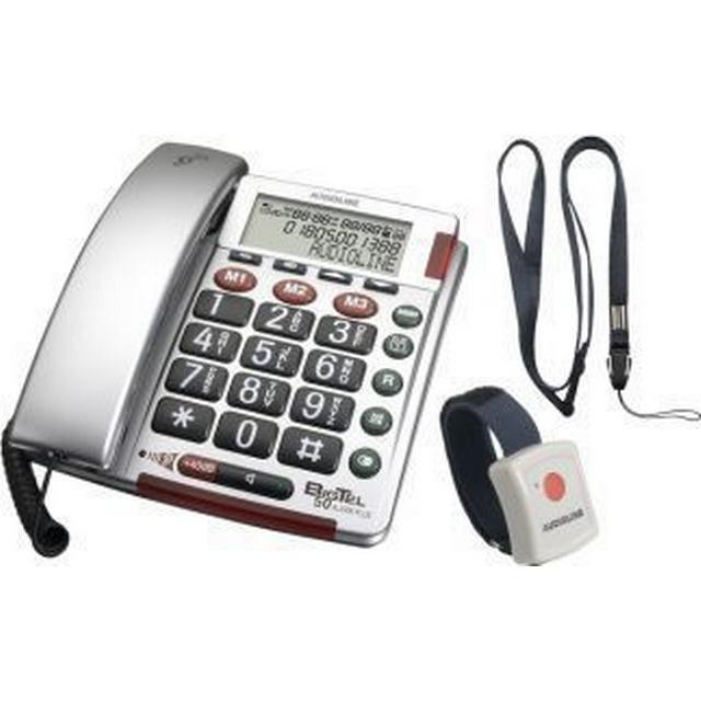 Audioline BigTel 50 Alarm Silver