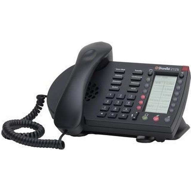 ShoreTel IP Phone 212k Black