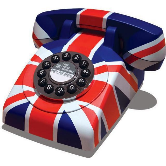 Gpo 1970's Retro Push Button Union Jack