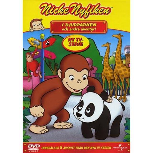 Nicke Nyfiken: I djurparken (DVD )