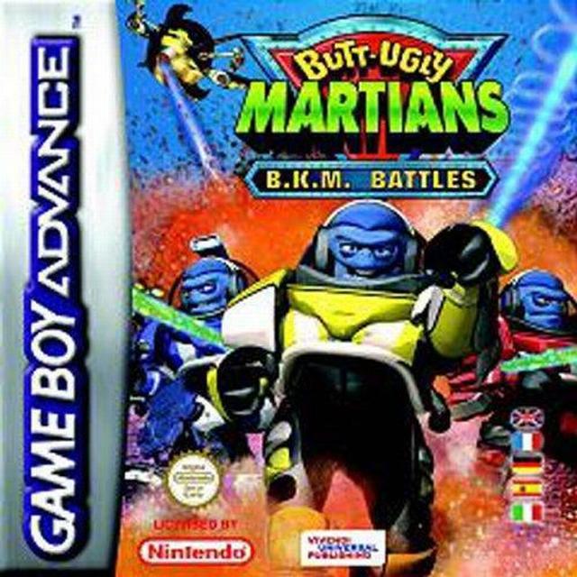 Butt-Ugly Martians : B.K.M. Battles