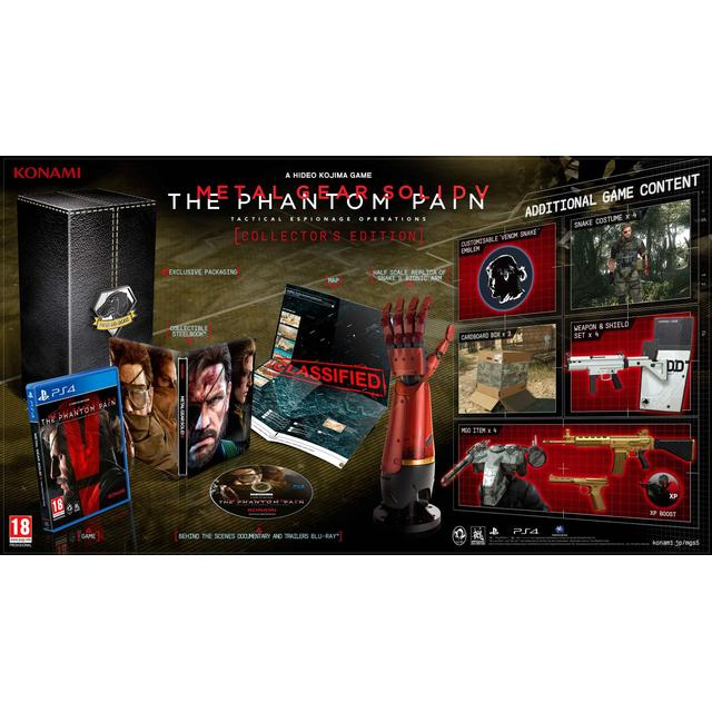 Metal Gear Solid 5: The Phantom Pain - Collectors Edition