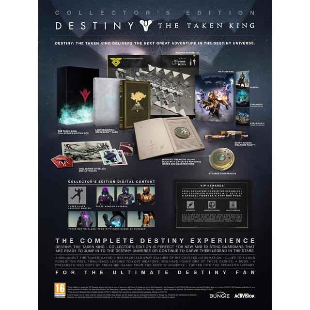 Destiny - The Taken King Collector's Edition
