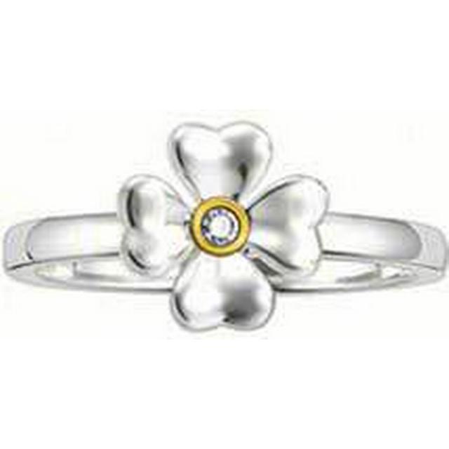 Thomas Sabo Sweet Diamonds - Ring Fyrklöver med Diamant