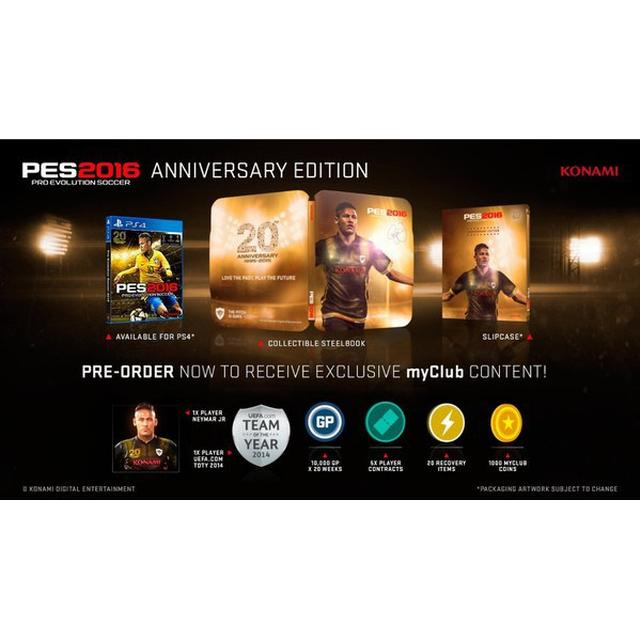 Pro Evolution Soccer 2016: 20th Anniversary Edition