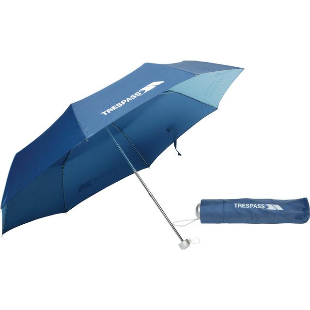 Trespass Compact Umbrella Blue