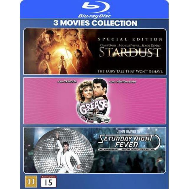 Stardust: Grease / Saturday night fever (3Blu-ray) (Blu-Ray 2011)
