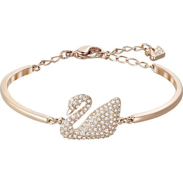 Swarovski Swan Armband - Roseguld/Kristall