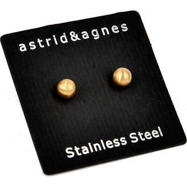 Astrid & Agnes Zero - Gold Plated Earrings (350546)