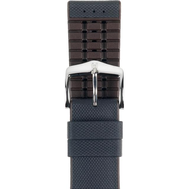 Hirsch Arne 20mm Large Black/Silver (0921094050-2-20) Klockarmband