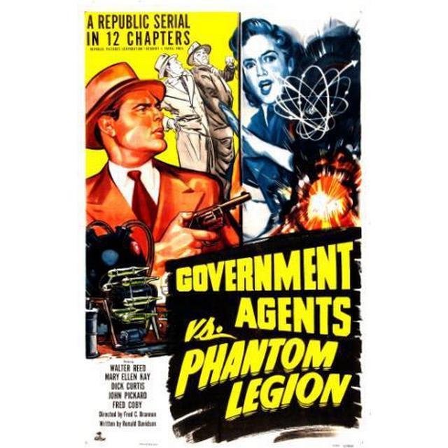 Government Agents Vs Phantom Legion (DVD) (DVD 2013)