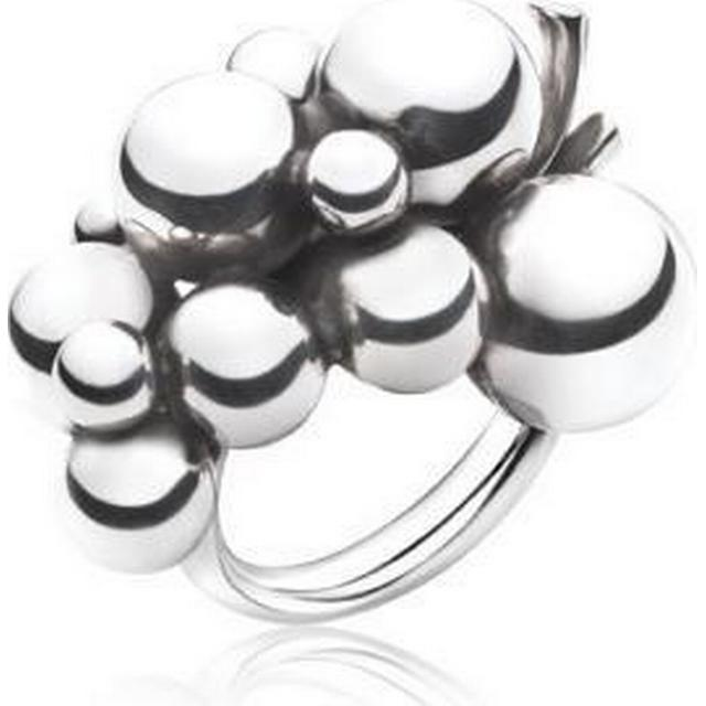 Georg Jensen Moonlight Grapes Silver Ring Large