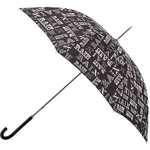 Totes Elegant Walker Umbrella Rain Text (9716REF)