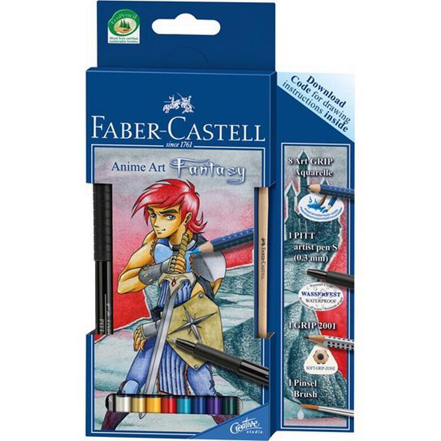 Faber-Castell Art Grip Aquarelle Pencils Anime Art Fantasy ...