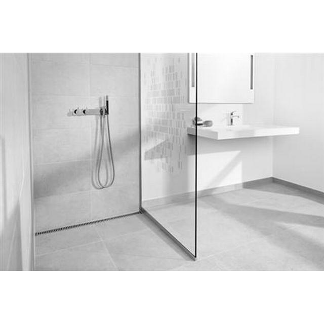 Unidrain Glassline 900 Duschvägg