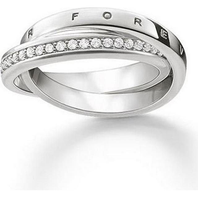 Thomas Sabo Glam & Soul Ring 54 Together Forever - Silver