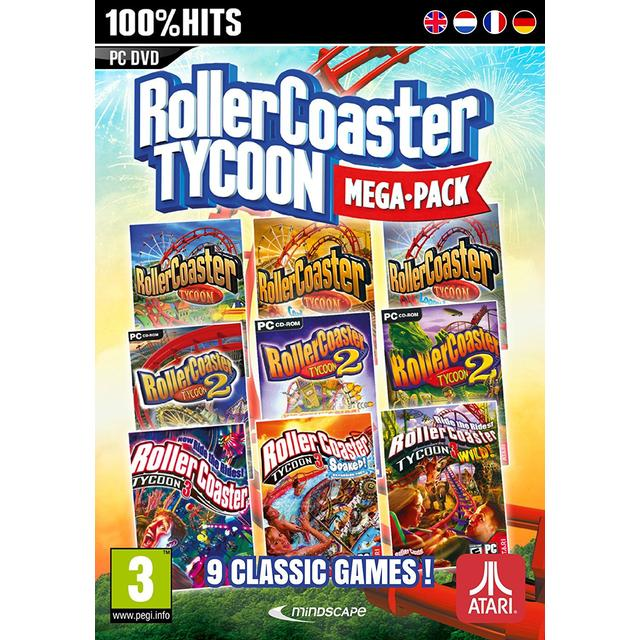 RollerCoaster Tycoon Mega Pack: 9 Classic Games