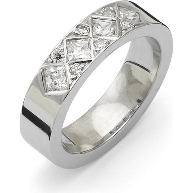Flemming Uziel Signo White Gold Ring (B067)