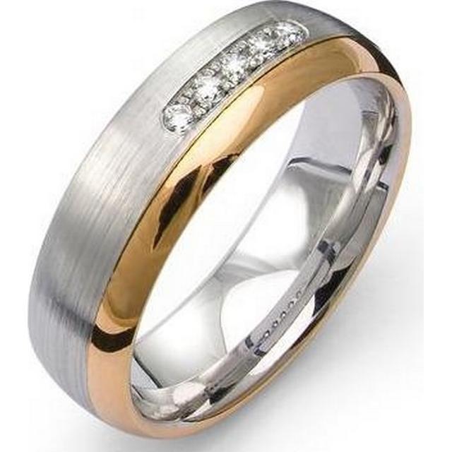 Flemming Uziel Selective White Gold Ring (B4172)