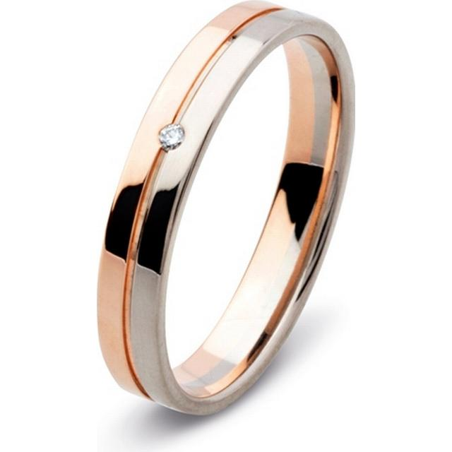 Flemming Uziel Lovely White Gold Ring (B72470)