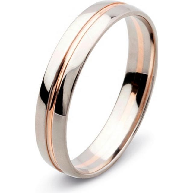Flemming Uziel Lovely White Gold Ring (72468)