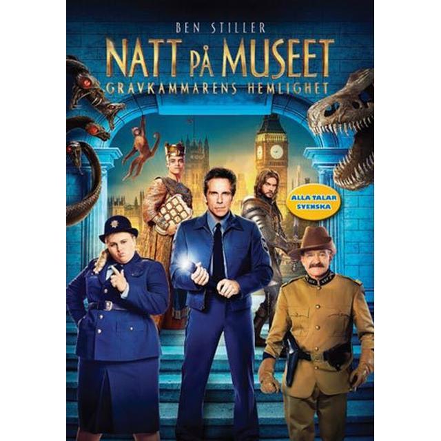 Natt på museet 3: Gravkammarens hemlighet (DVD) (DVD 2014)