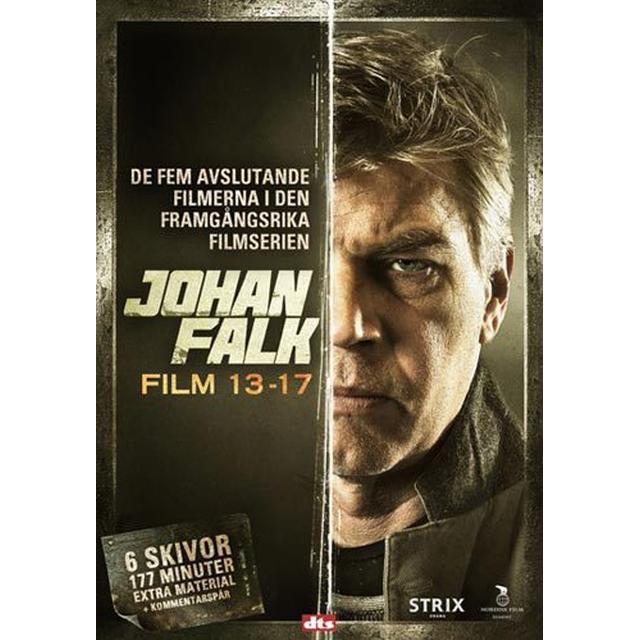 Johan Falk 13-17: Box (6DVD) (DVD 2015)