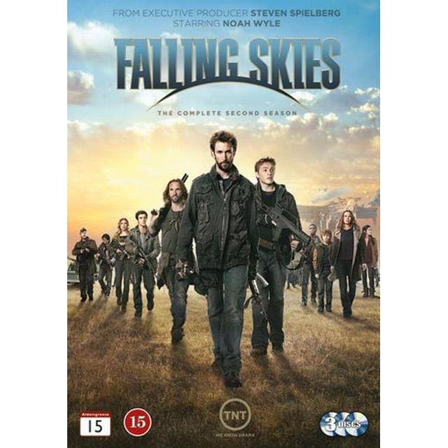 Falling skies: Säsong 2 (3DVD) (DVD 2013)