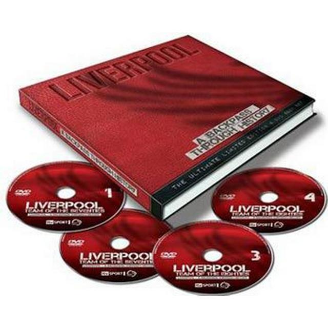 Liverpool: A backpass through the history (4DVD + Bok) (DVD 2015)