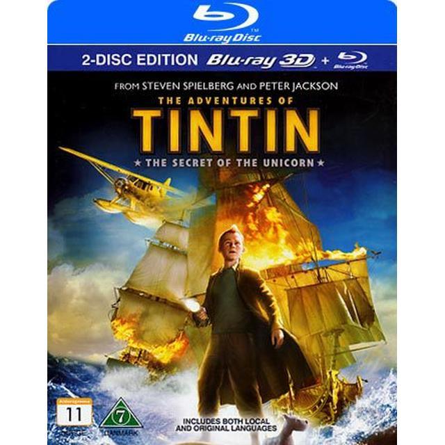 Tintin: Enhörningens hemlighet 3D (Blu-ray 3D + Blu-ray) (3D Blu-Ray 2011)