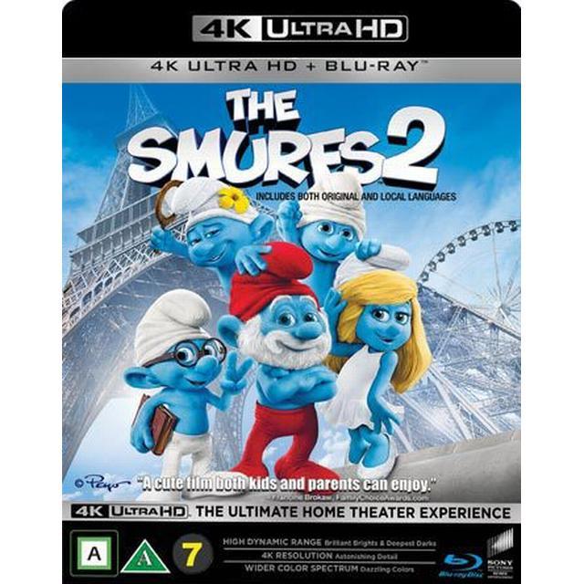Smurfarna 2 (4K Ultra HD + Blu-ray) (Unknown 2016)