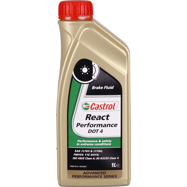 Castrol React Performance DOT 4 1L Bromsvätska