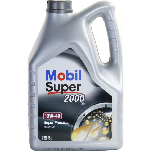 Mobil Super 2000 X1 10W-40 5L Motorolja