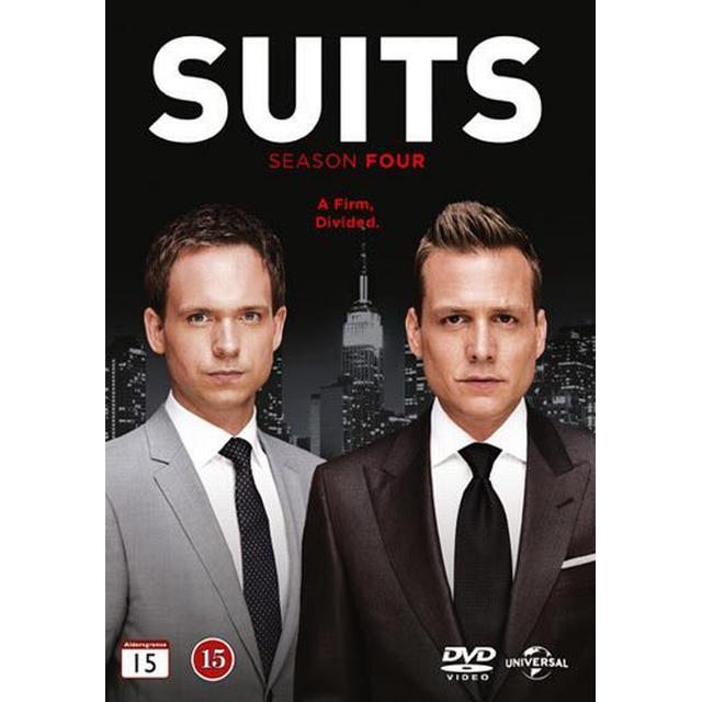 Suits: Säsong 4 (4DVD) (DVD 2014)