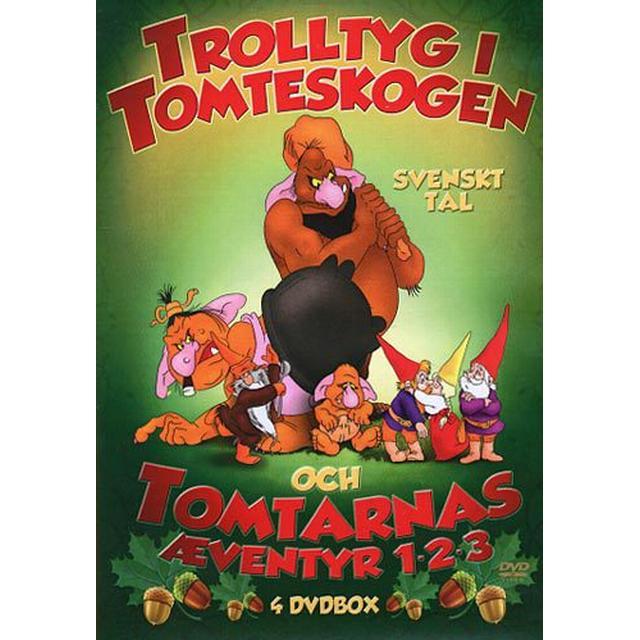 Trolltyg - Tomtarna edition (4DVD) (DVD 2016)