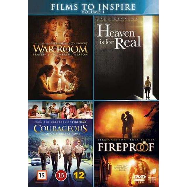 Films to inspire vol 1 - 4 filmer (4DVD) (DVD 2016)