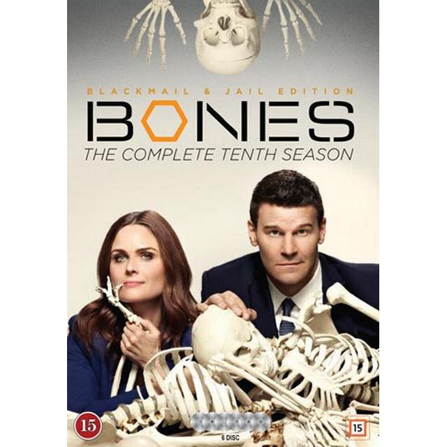Bones: Säsong 10 (6DVD) (DVD 2015)