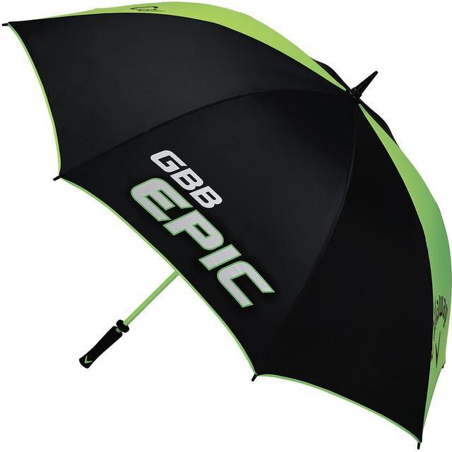"""Callaway Golf GBB Epic 64"""" Umbrella Black/Green"""