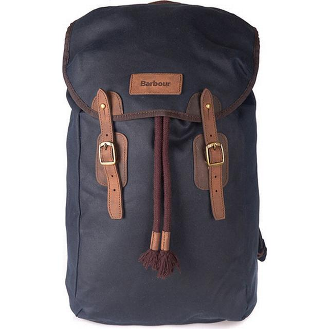 Barbour Wax Leather - Blue/Brown