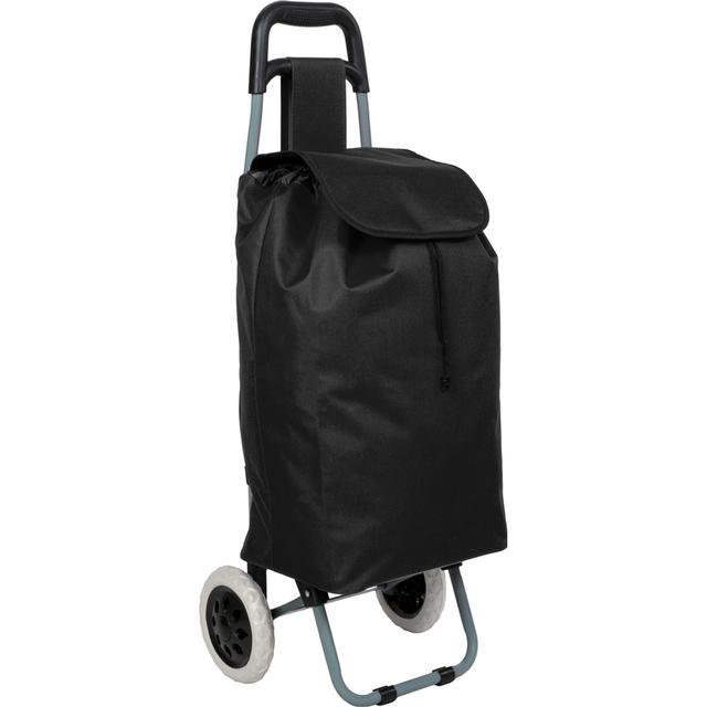 tectake Shoppingvagn - Svart